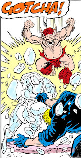 Pip el Troll deja KO al Hombre de Hielo y a Kaos