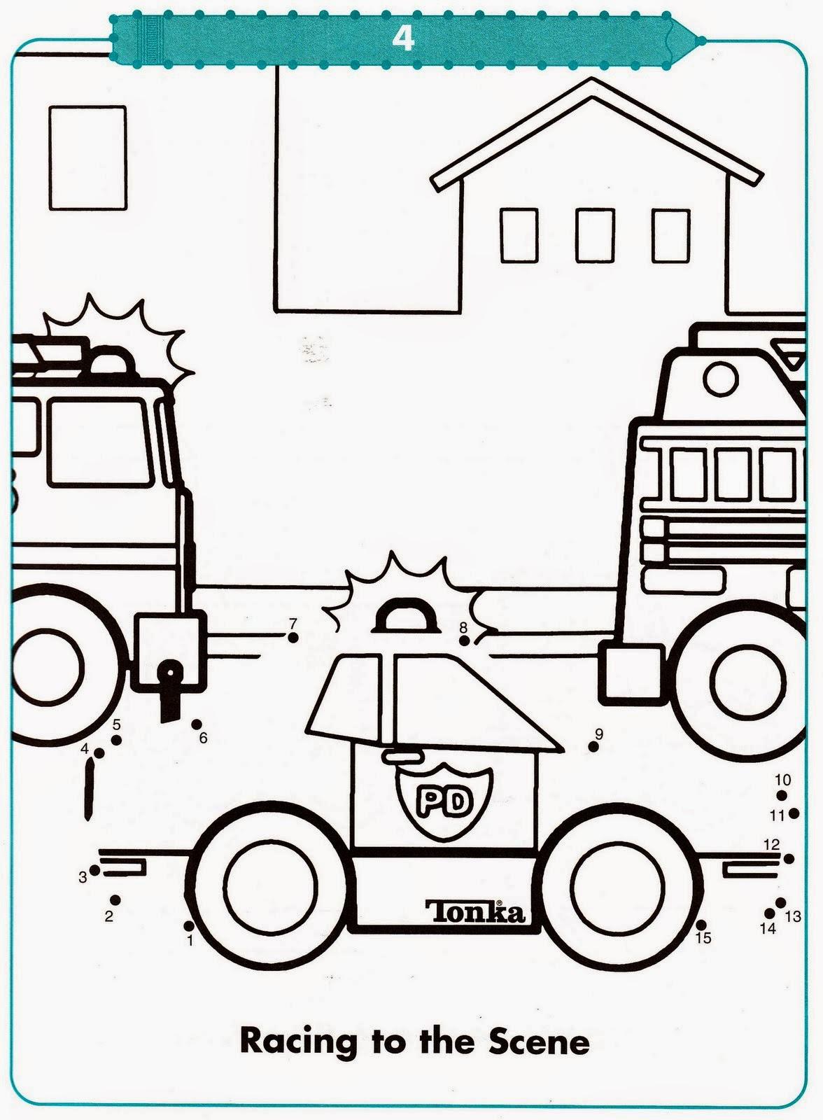 Atividades Com Meios De Transporte Para Colorir E Ligar Pontos