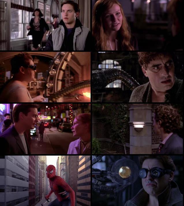 Spider Man 2 2004 Dual Audio Hindi 720p BluRay
