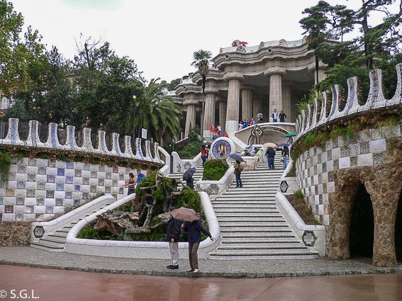 Parque Güell. Barcelona. Gaudi España