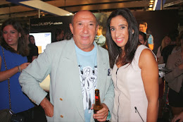With Francis Montesinos Fashion Designer