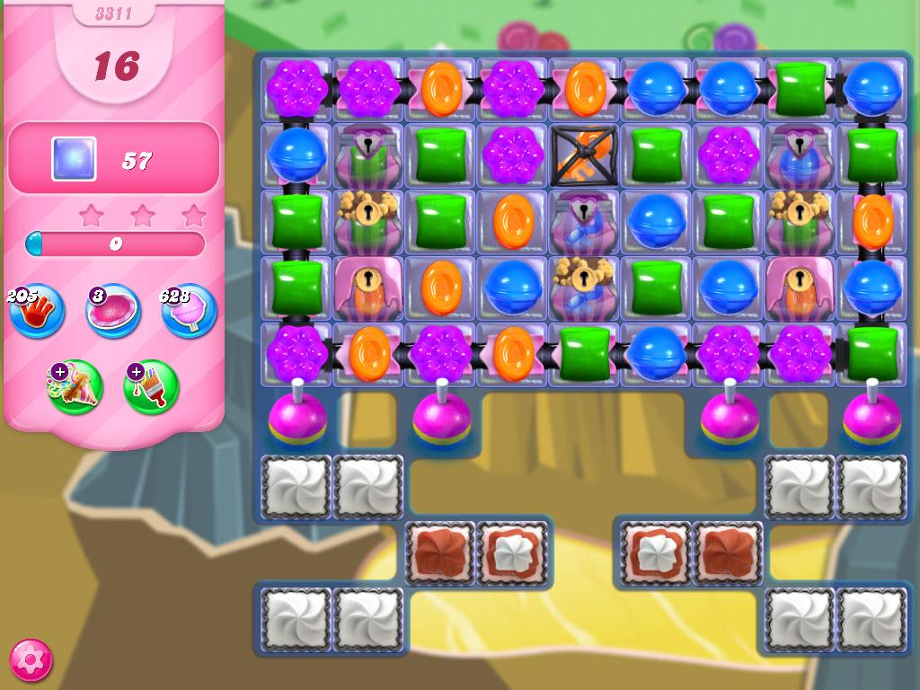 Candy Crush Saga level 3311
