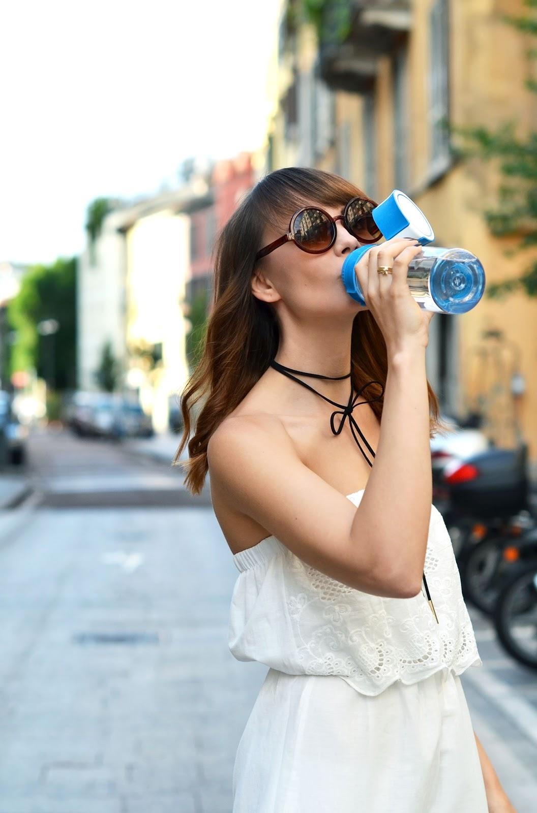butelka brita | zalety picia wody | blog modowy krakow