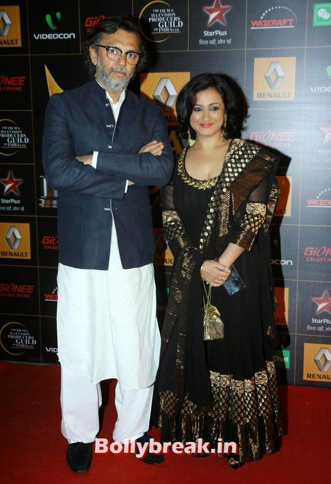 Rakeysh Omprakash Mehra, Divya Dutta, Star Guild Awards 2014 Pictures