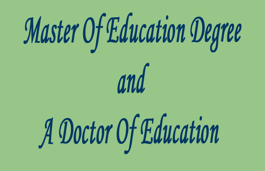 Doctoral of Education (EdD) | Advance Your Education Career‎