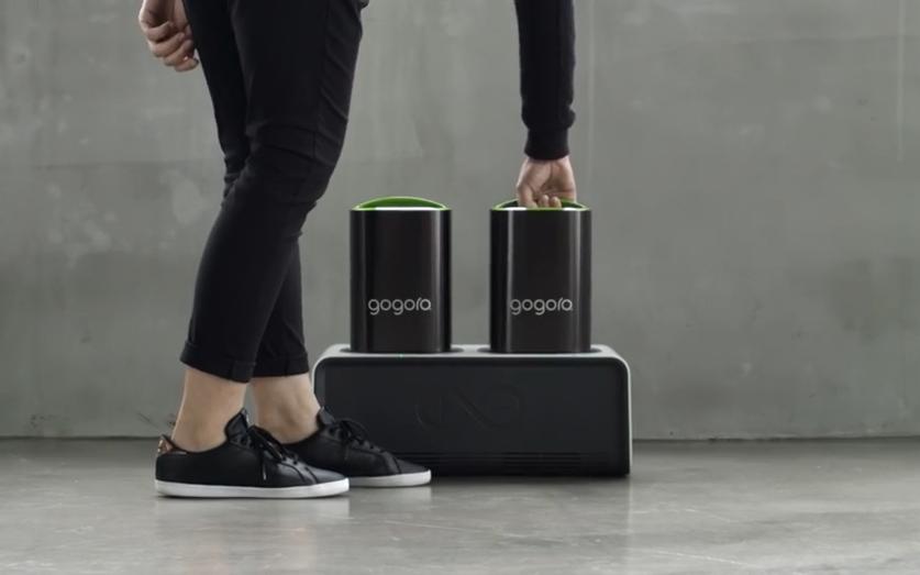 [CES 2016] 在家也能充電!Gogoro發表家用智慧電池座「GoCharger」