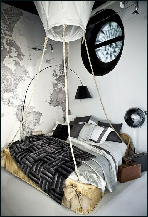 travel themed bedroom decorating theme bedrooms maries manor air balloon 13588