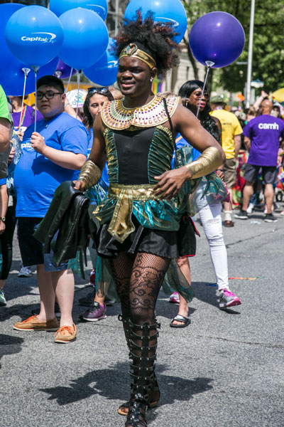 Toronto Pride Parade 2017 black gay man