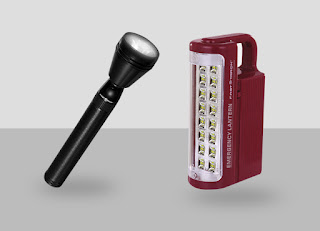 led flashlight and emergency light combo offer