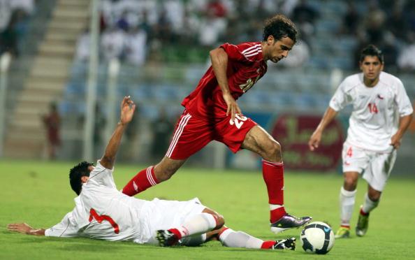 Omán y Chile en partido amistoso, 12 de octubre de 2010