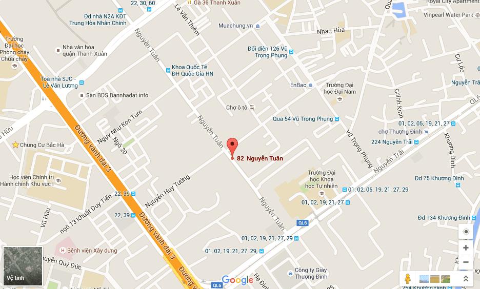 Vị trí đắc địa chỉ có tại dự án chung cư Thống Nhất Complex 82 Nguyễn Tuân
