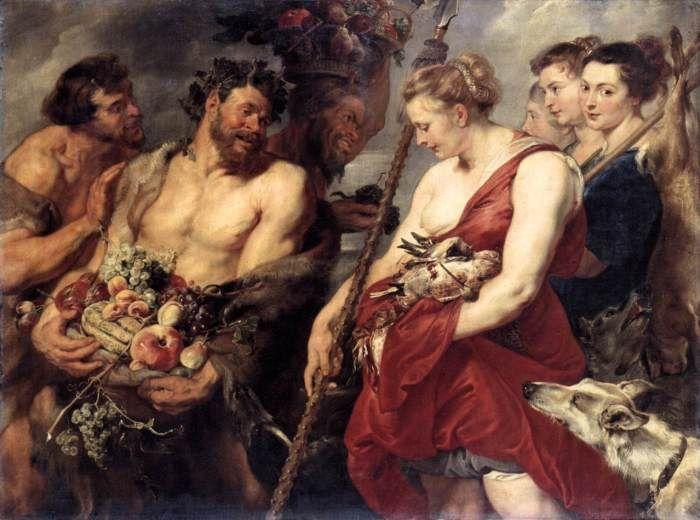 Питер Пауль Рубенс – Возвращение Дианы с охоты