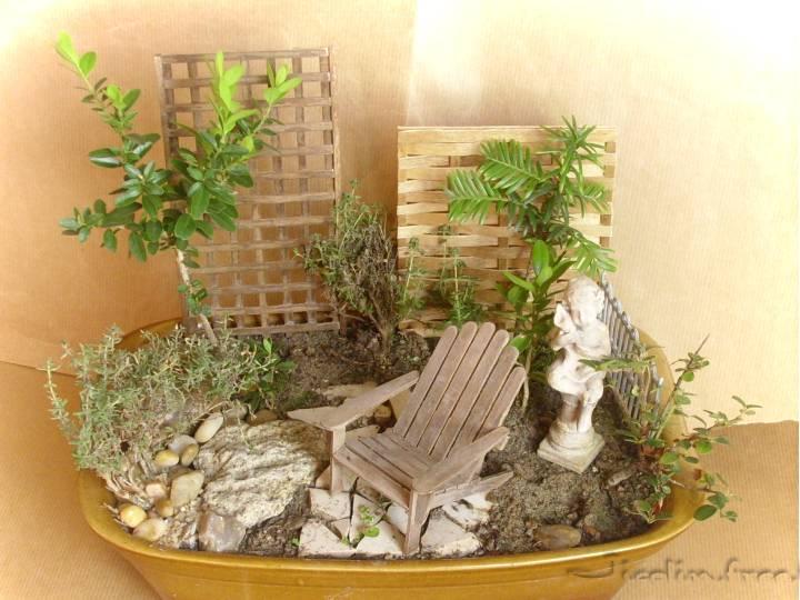 jicolin minis jardin miniature. Black Bedroom Furniture Sets. Home Design Ideas