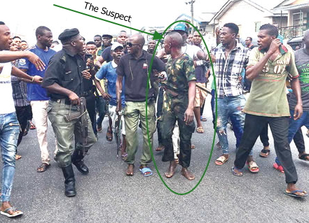 fake soldier steals iphone 7 warri