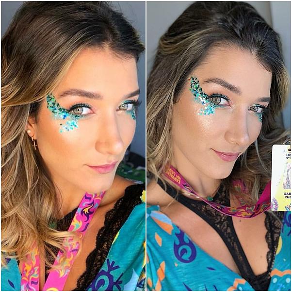 maquiagem de carnaval gabriela pugliesi