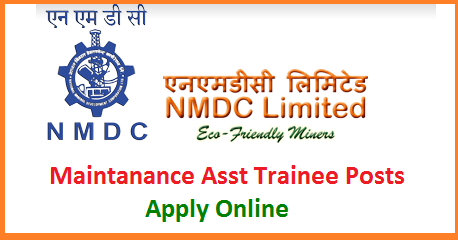 NMDC Recruitment for MAT Maintanance Asst Trainee 44 Posts with ITI Qualifications - Apply Online