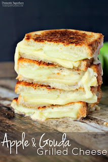 vegetarian apple recipes apple grilled cheese
