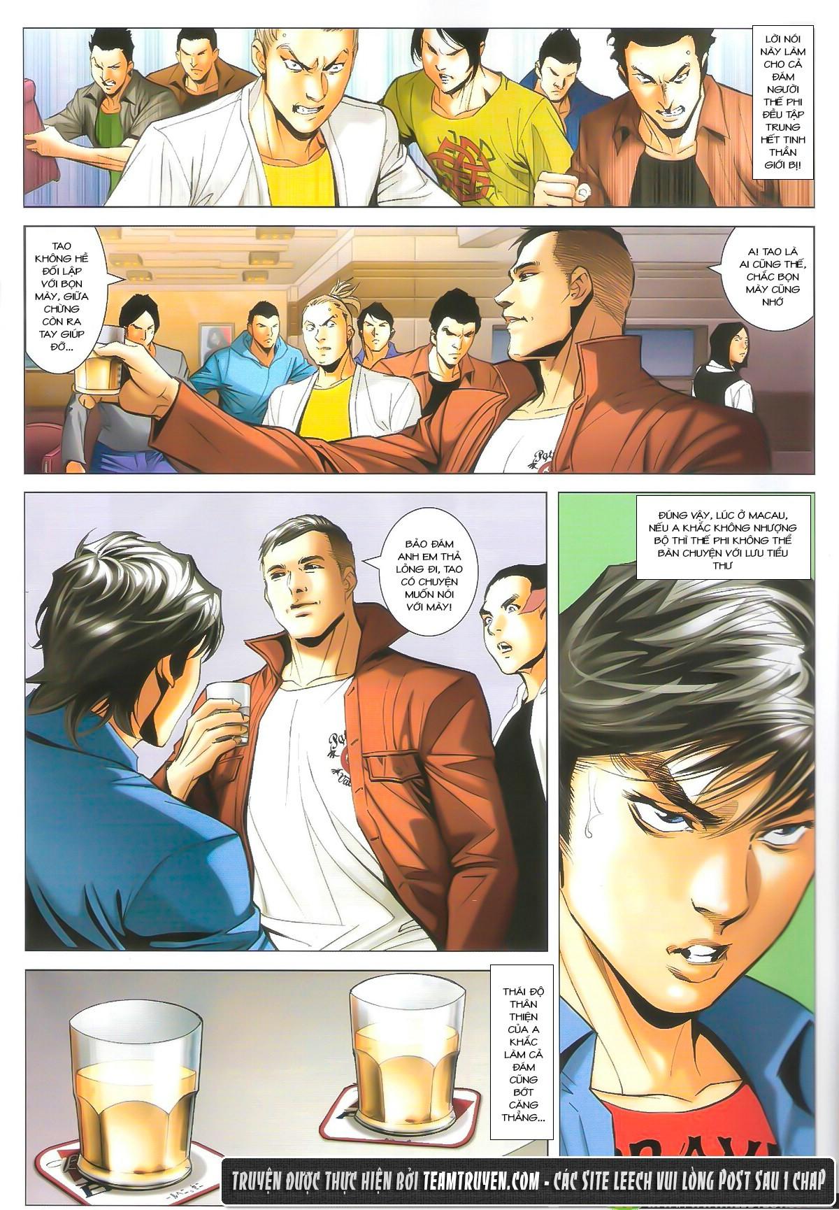 Người Trong Giang Hồ chapter 1610: a khắc giá lâm trang 17