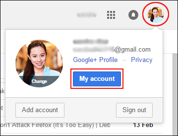 how to connect gmail to outlook app