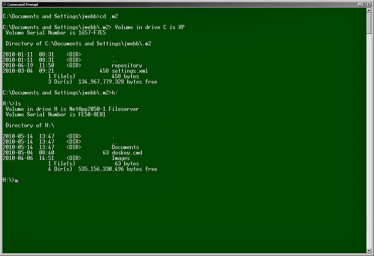 S Z Club: Change The Command Prompt's font and Background