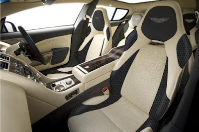 Aston Martin offer wide range of personalisations options