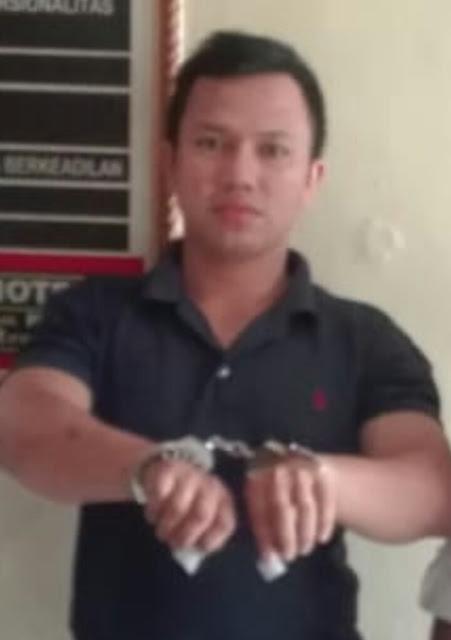 Adek tersangka narkoba di Tanjungbalai.