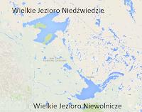 Jeziora Kanady - Wielkie Jezioro Niewolnicze iWielkie Jezioro Niedźwiedzie