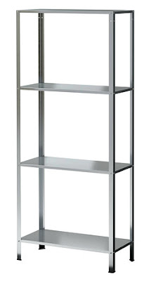 HYLLIS shelving unit from Ikea