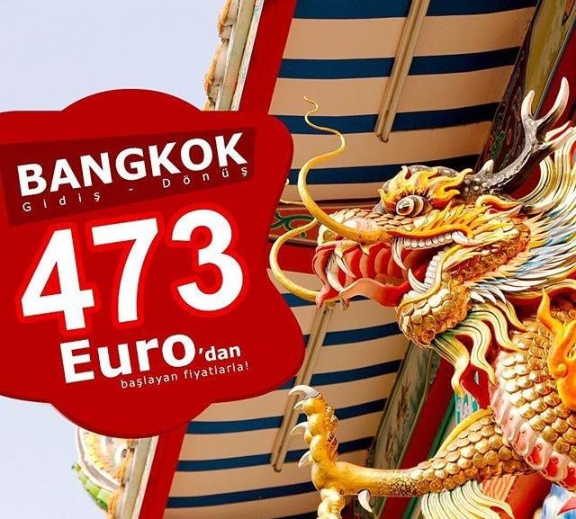 bangkok uçak bileti kampanyası