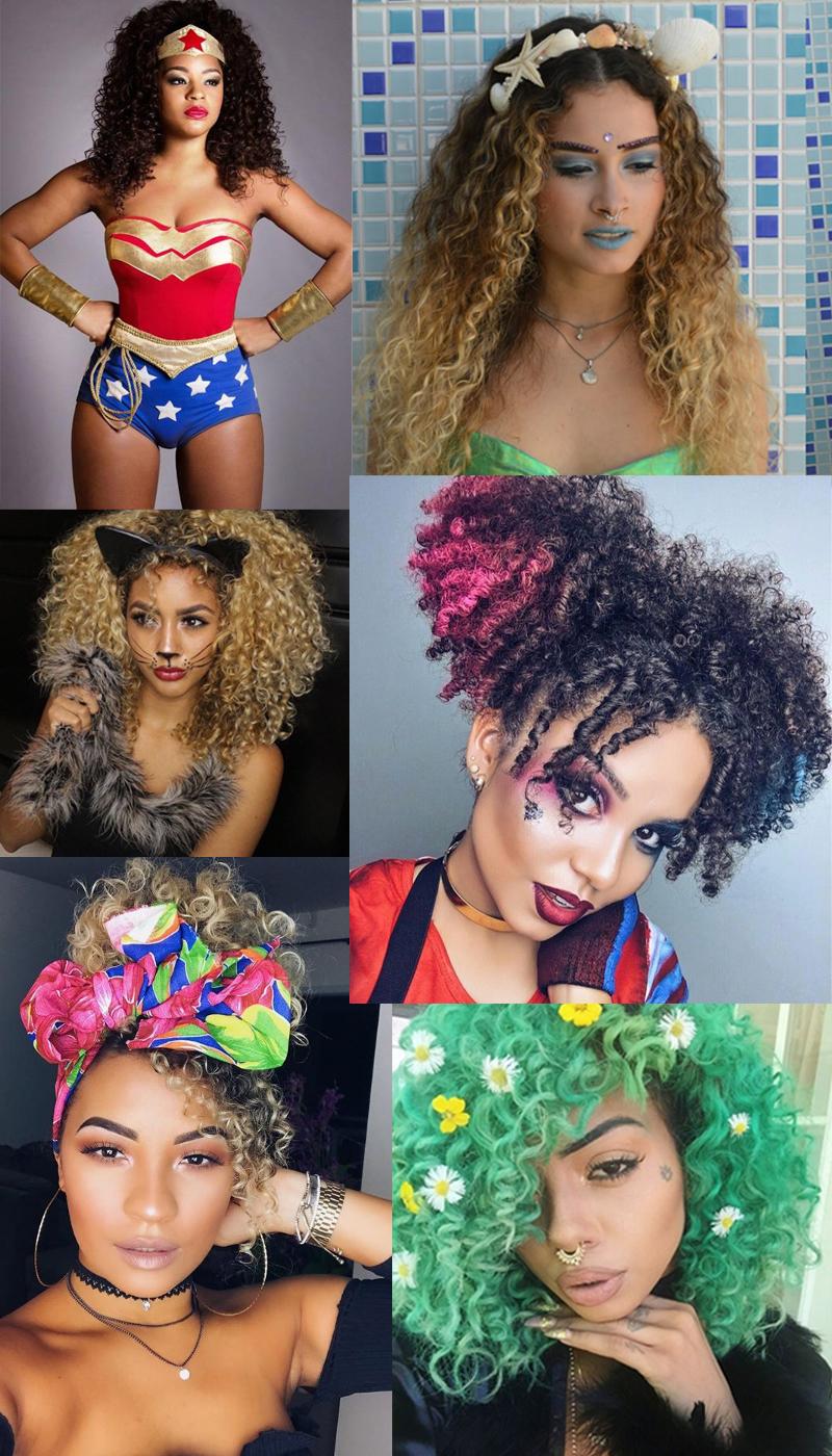 Inspiração de maquiagens para o carnaval manual dos cachos