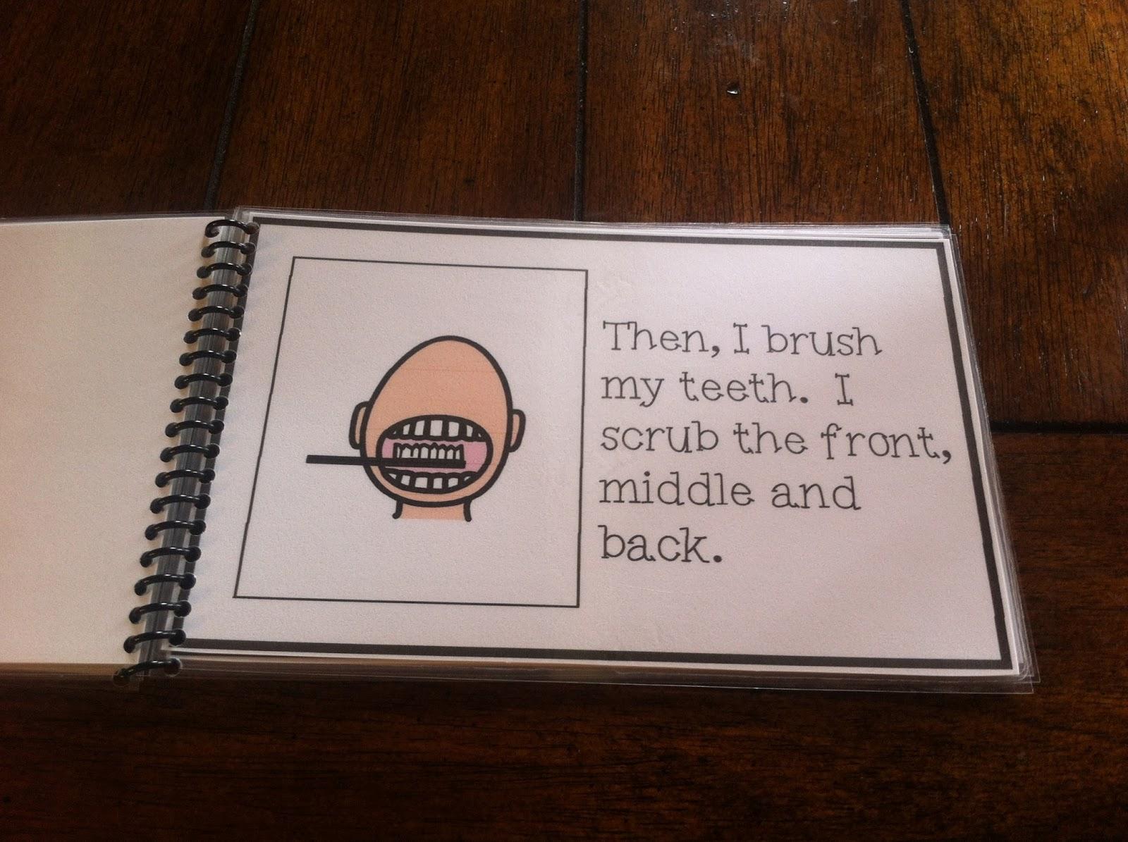 I Can Brush My Teeth Social Story
