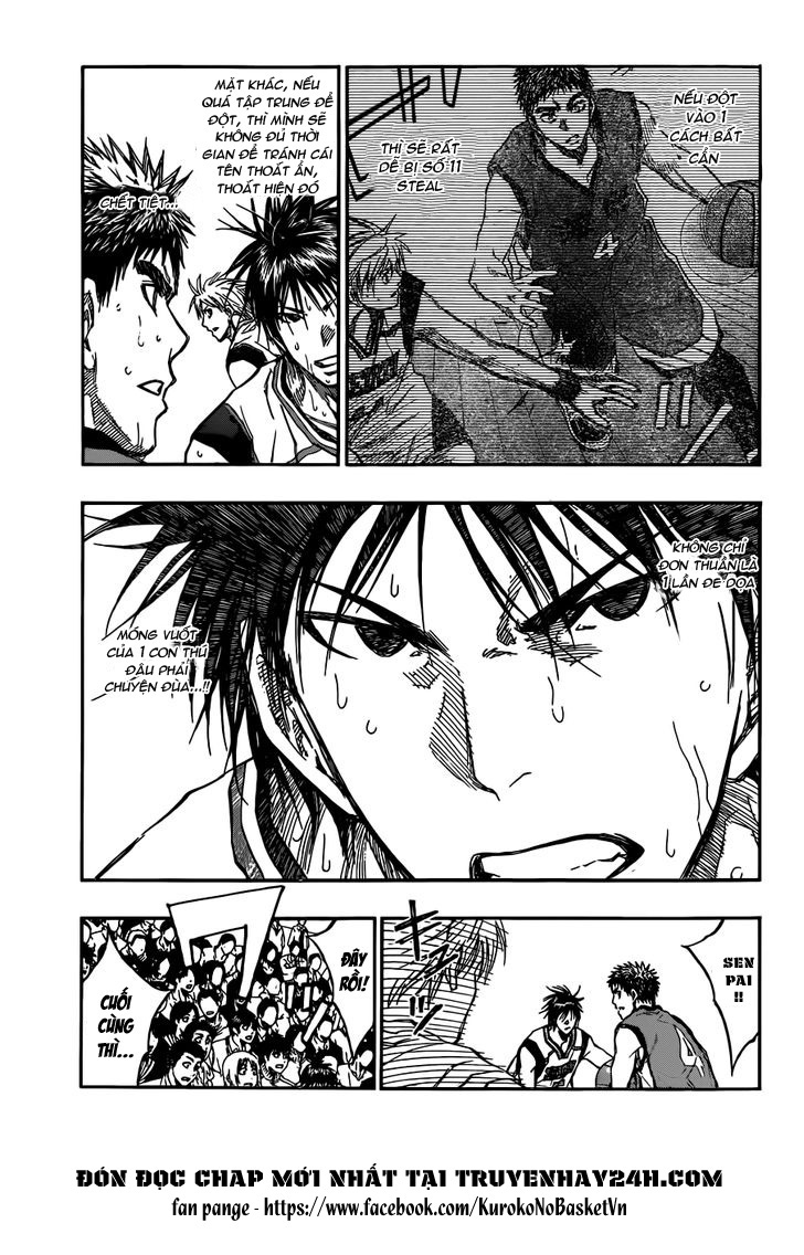 Kuroko No Basket chap 189 trang 7