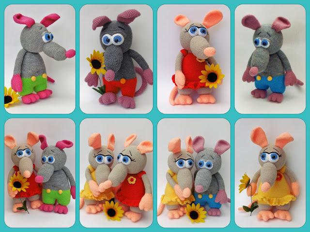 #rott#rat#crochet#heegeldatud#amigurumi#soft#toy#pehme#manguasi