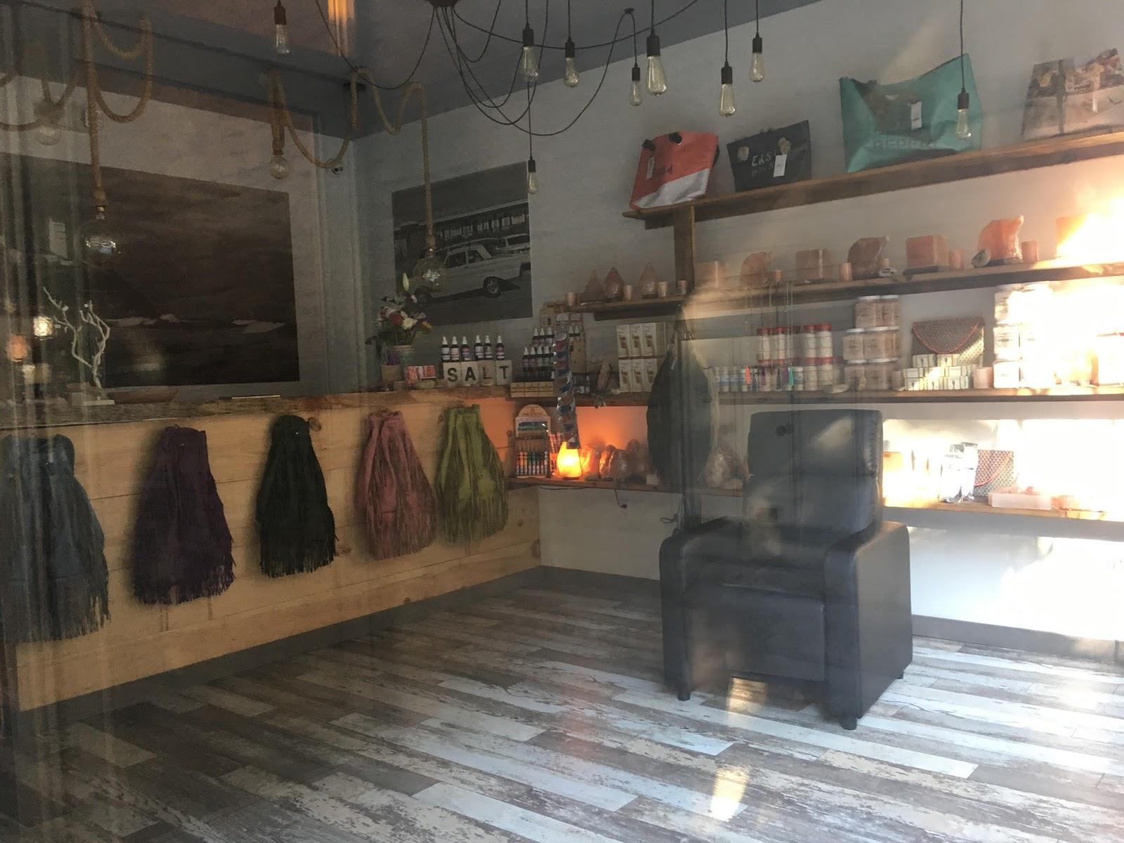 Ev grieve montauk salt cave now open on 10th street for 10th street salon