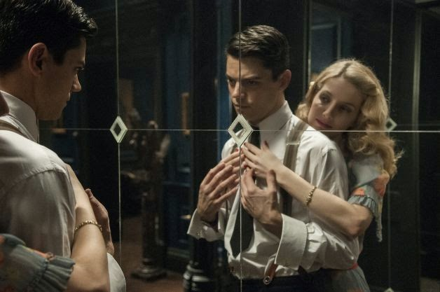 Dominc Cooper Annabelle Wallis Ian Fleming movie
