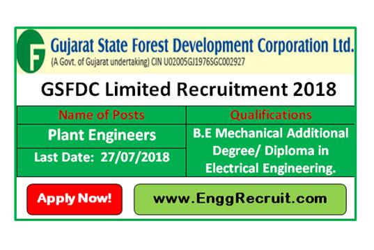 GSFDC Recruitment 2018