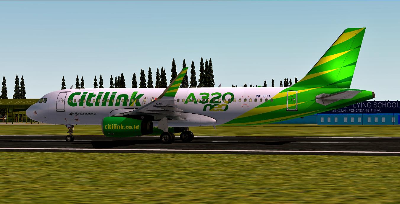 Airbus A320-251N / Citilink Garuda Indonesia / Multiple