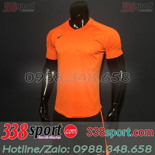 Áo Bóng Đá Không Logo Hot Nike TB SPH02 Cam