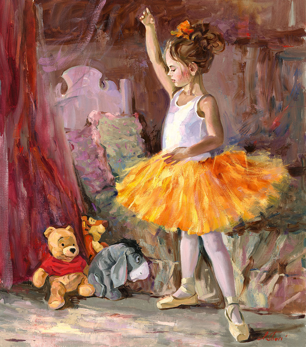 "Ballet Dancers By ""Irene Sheri"" 1968"