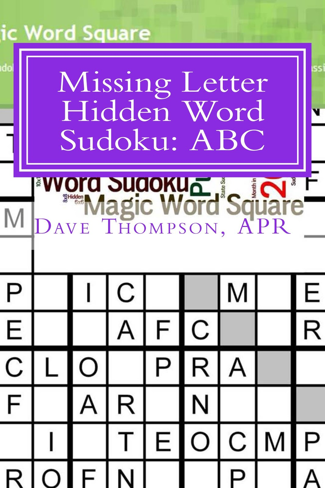 letter and word magic magic word square word sudoku puzzle book available on 9966