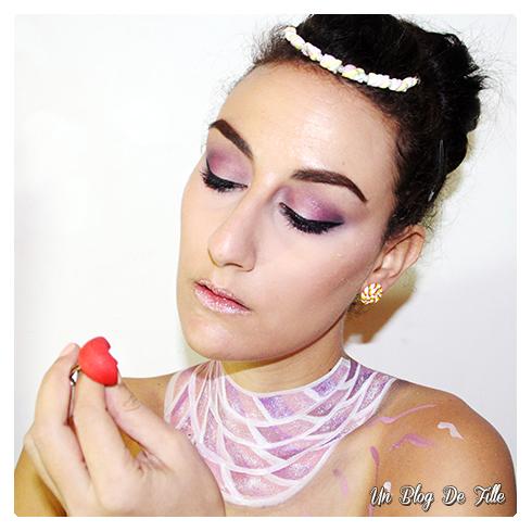 http://unblogdefille.blogspot.fr/2017/01/maquillage-artistique-la-gourmandise.html