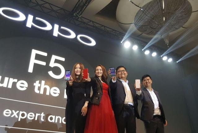 Resmi Meluncur Oppo F5 Harga Mulai Dari 3,9 Jutaan Hadirkan 3 Varian Warna