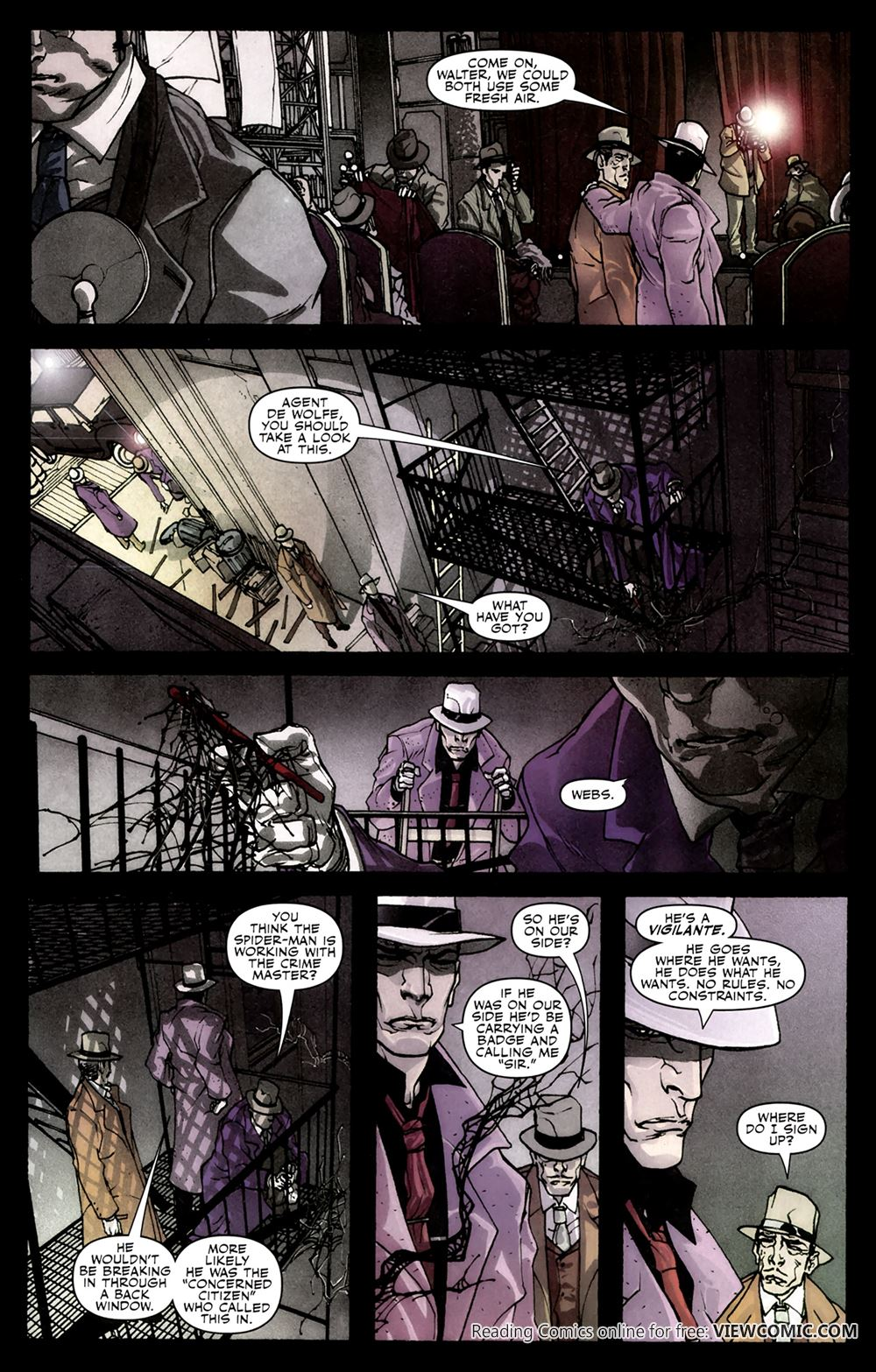 spider-man noir – eyes without a face 02 | viewcomic reading comics