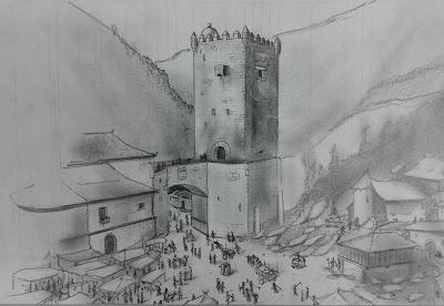 El castillo de Salas.