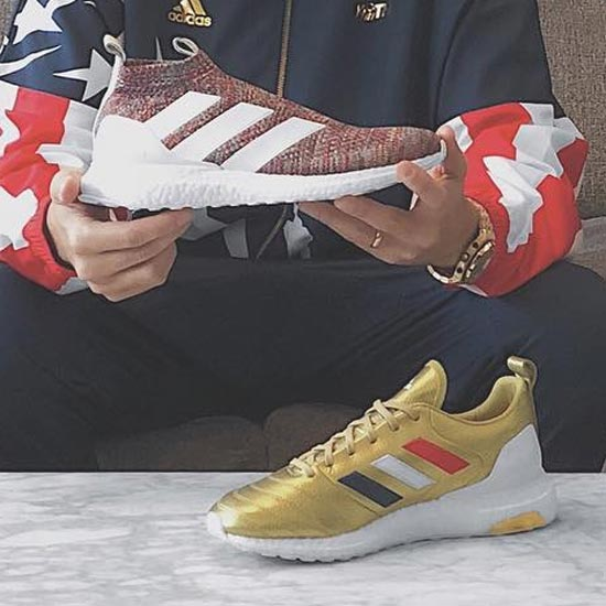 new product ad6db b19a0 Adidas x Kith Chapter 3 Ace 16+ Ultra Boost Multicolor
