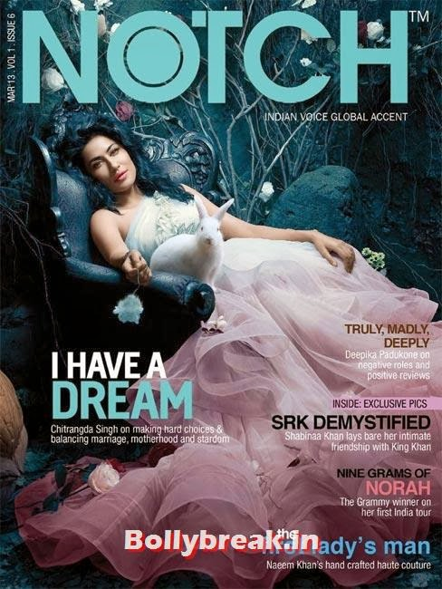 Chitrangada Singh on Notch cover, The Hottest cover girls of 2013
