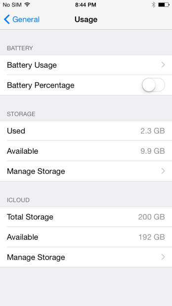iOS 8 How to: Monitor and track your battery usage 3