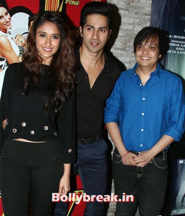 Ileana D'Cruz and Varun Dhawan, Hottest at Main Tera Hero Success BASH