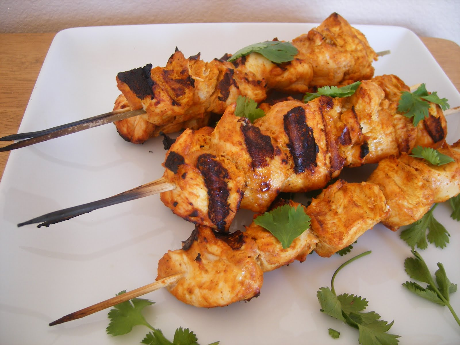 What the Dog Ate: Chicken Tikka Kebabs