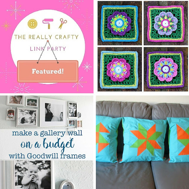 The Really Crafty Link Party #20 featured posts!